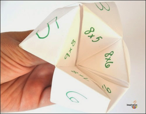 multiplication-cootie-catcher