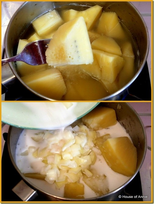 Boiled Breadfruit