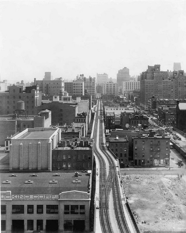 high line abandoned railway line becomes elevated park in new york amusing planet. Black Bedroom Furniture Sets. Home Design Ideas