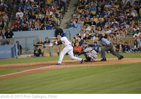 'Yasiel Puig' photo (c) 2013, Ron Gallegos - license: http://creativecommons.org/licenses/by/2.0/