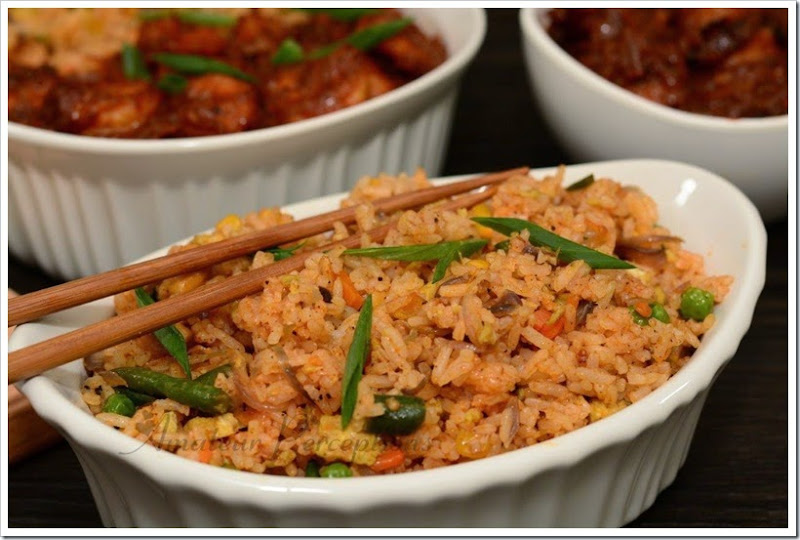 Fried Rice & Sichuan Shrimp 4