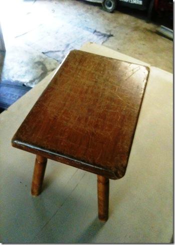stool before