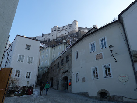Obiective turistice Salzburg: spre citadela