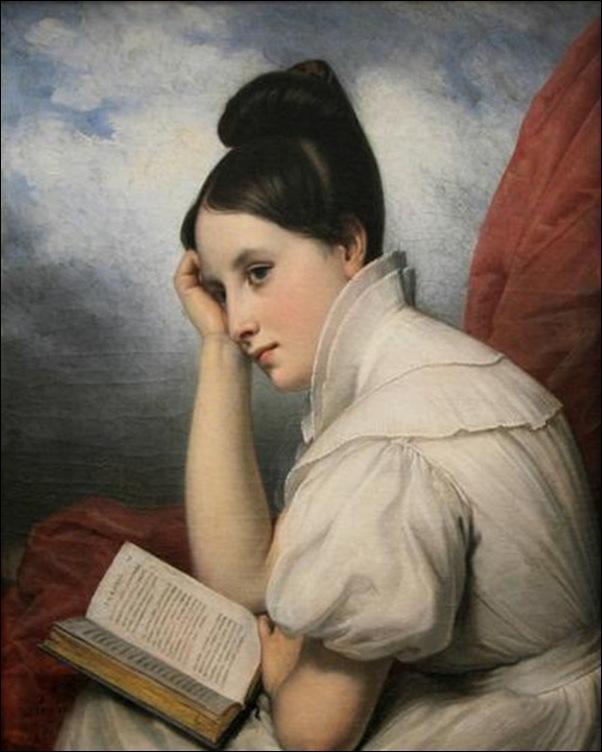 Charles-Guillaume Steuben, Jeune femme  lisant