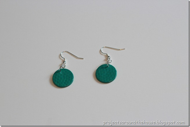 nail polish painted earrings 2