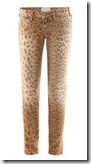 Current Elliot Leopard Print Jeans