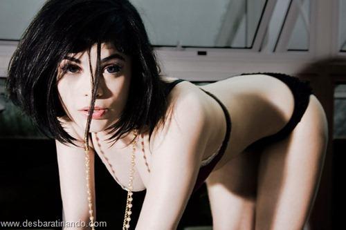 lingerieday lingerie day desbaratinando linda sensual sexy gostosa peitos bunda 2011 twitter musas (30)