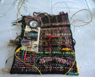 Têxtil objeto sonoro