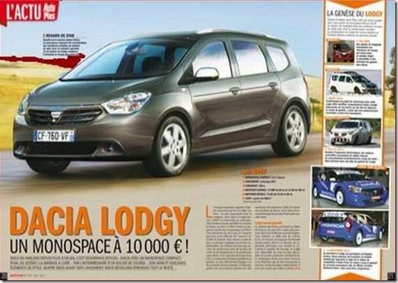 Dacia Lodgy MPV 21