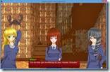 صورة لشخصيات الفتيات الثلاثة التى تمت دعوتهم لحضور الأمسية النسائية فى منزل شيزوكا المريب