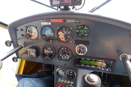 Bord avion mic light flying Nepal