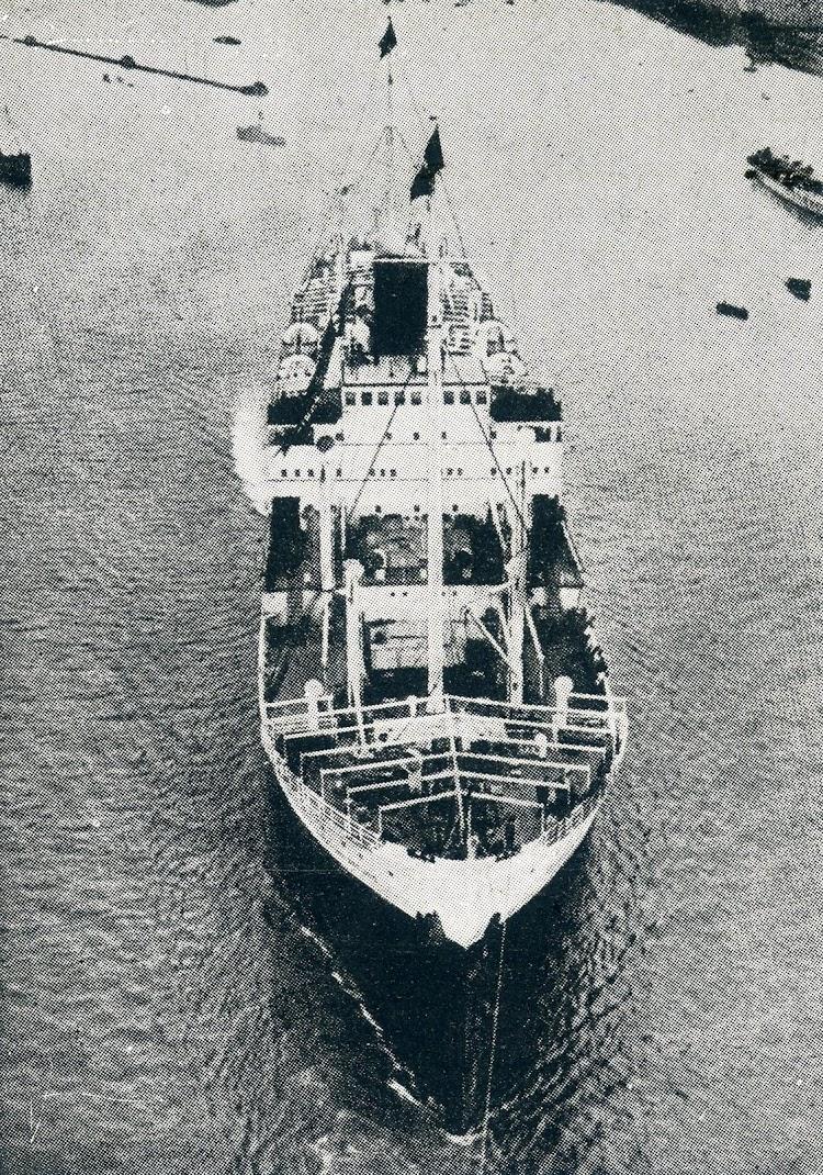 Vista aerea del CABO SAN ANTONIO. De la rista LA VIDA MARITIMA. Año 1.930.JPG