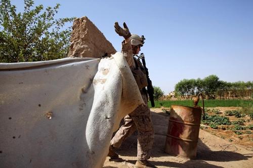 Афганистан морпехи сша во время