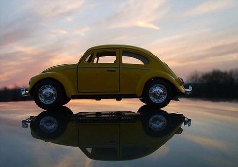 50. Volkswagen en el cielo