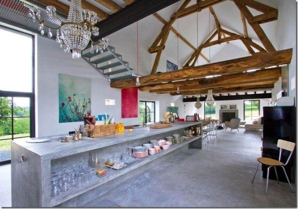 Un ex fienile in borgogna case e interni for Interni ristrutturati