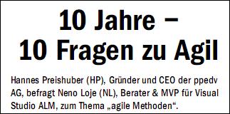 10 Jahre Agiles Manifesto: Glückwunsch zum Geburtstag!
