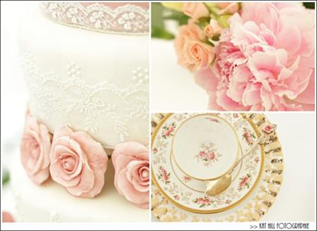 Semplicemente Perfetto Vintage Tea Party Wedding 02