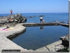 Le vasche termali di Cala Gadir - Pantelleria
