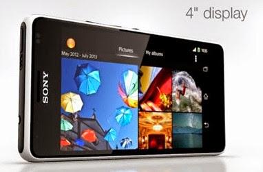 Model Sony Xperia E1
