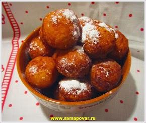 Детские пончики. www.samapovar.ru