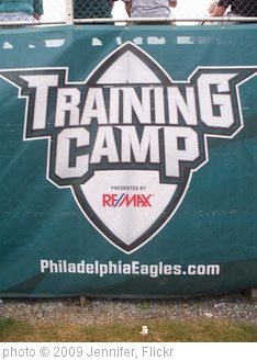 '2009 Eagles Training Camp' photo (c) 2009, Jennifer - license: http://creativecommons.org/licenses/by-sa/2.0/