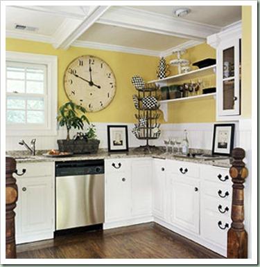 open shelving kitchen bhg