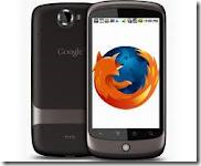 Browser Firefox in Celluler Telephone