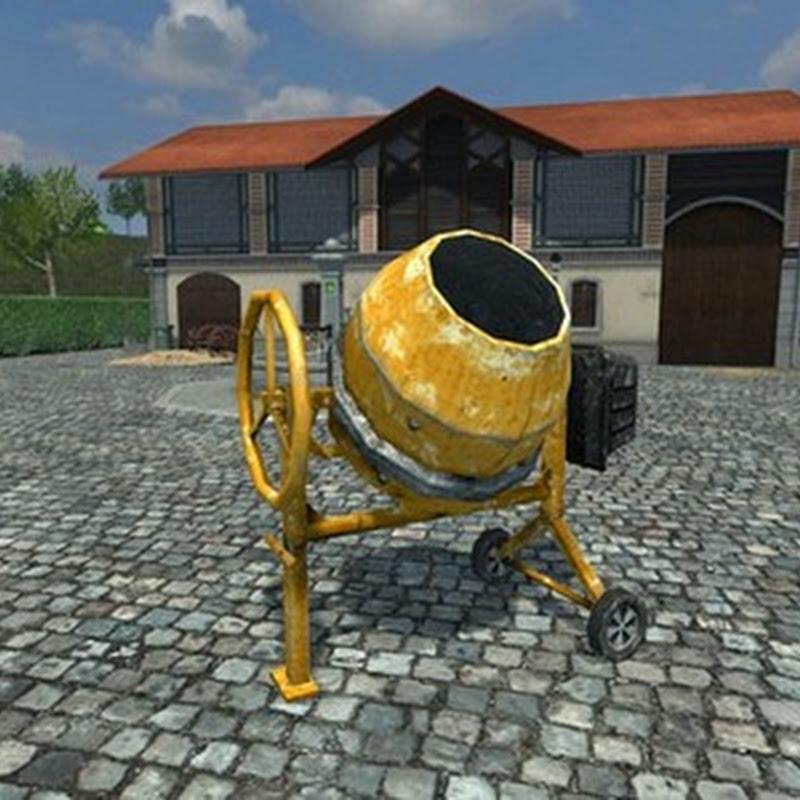 Farming simulator 2013 - Betoniera portatile Mod