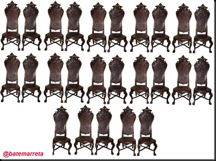 25 cadeiras