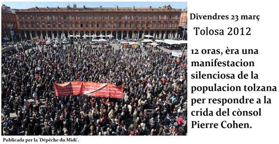 fòto de la manifestacion del 23 de març al capitòli.