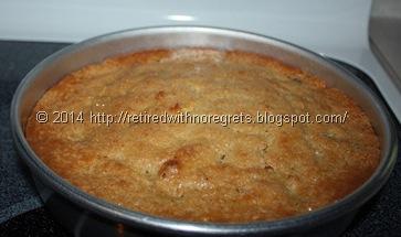 Blueberry Cornmeal-Polenta Cake - Gluten Free