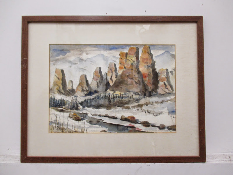 R. McAllister Lloyd Watercolor #2