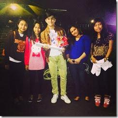foto rizky nazar terbaru 2014 dengan fans