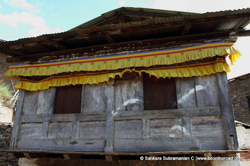 Wooden House at Dirang Dzong