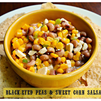 Black-Eyed Peas & Sweet Corn Salsa