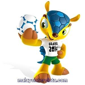 Maskot piala dunia brazil 2014