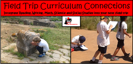 Educational Benefits of a Field Trip - Benefits of a field trip - curriculum connections for reading, writing, math, science and social studies - from Heidi Raki of Raki's Rad Resources