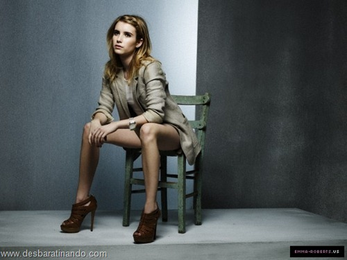 Emma Roberts linda sensual sexy sedutora desbaratinando (46)