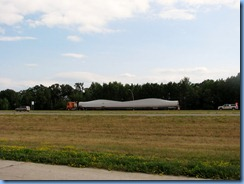 2597 Minnesota US-2 East - truck transporting wind turbine blades