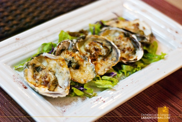 Millie's Blue Cheese Baked Oyster at Microtel MOA