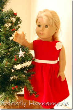 18 Doll Holiday Dress