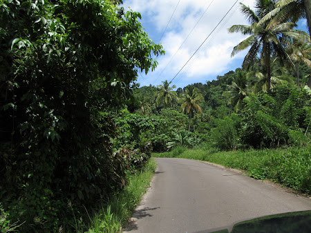 St. Lucia: The main road