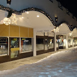 shopping alley in Seefeld, Tirol, Austria
