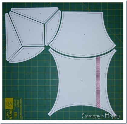 All templates cut