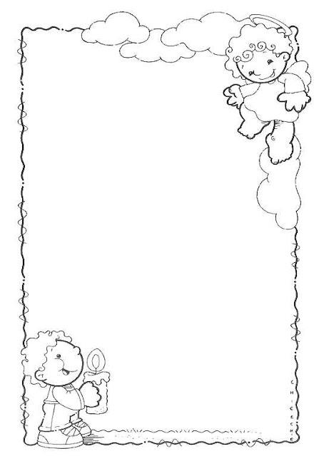 Laminas de bordes en blanco y negro para enmarcar tus dibujos for Laminas blanco y negro