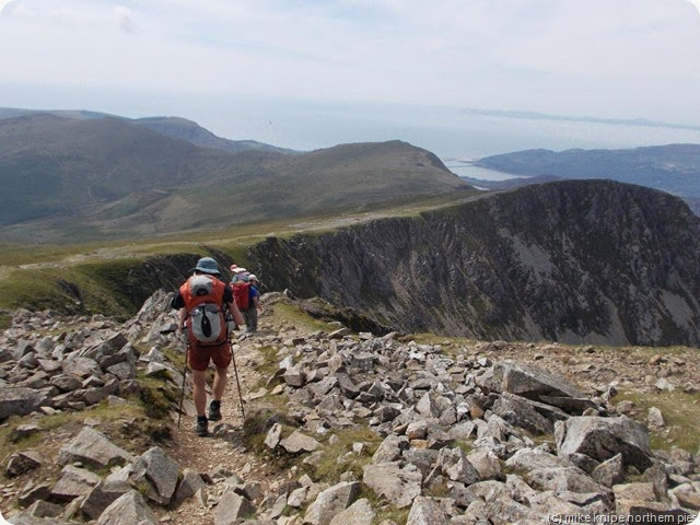 descending cadair idris