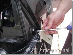 Sandero parkeersensoren inbouwen 06