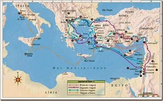 34404 059-4 BIBLE MAP