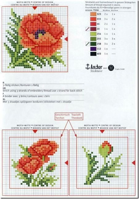 Ponto Cruz-Cross Stitch-Punto Cruz-Punto Croce-Point de Croix-211