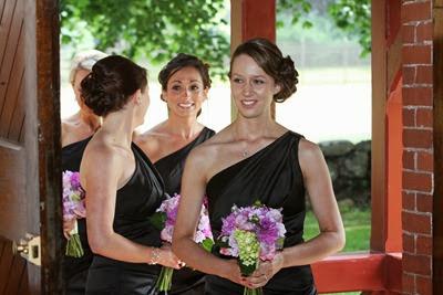 NH Seacoast Wedding | Purple Wedding Flowers | Ideas in Bloom